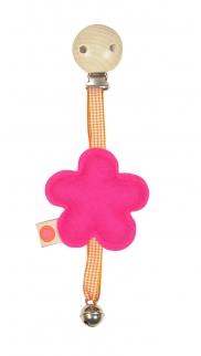 Wagenanhaenger Blume / pink