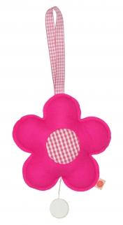 Spieluhr Blume / pink