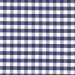 Kopftuch dunkel blau / großes Karomuster