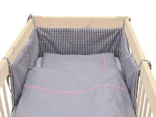 Nestchen Karo mit Bett