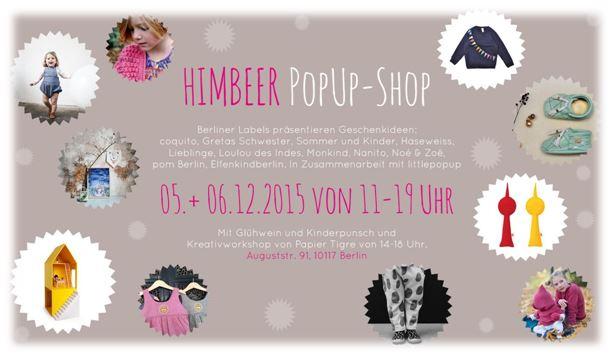 HIMBEER WEIHNACHTS-POPUP-SHOP