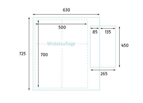 wickwam wickelaufsatz f r waschmaschine nanito. Black Bedroom Furniture Sets. Home Design Ideas